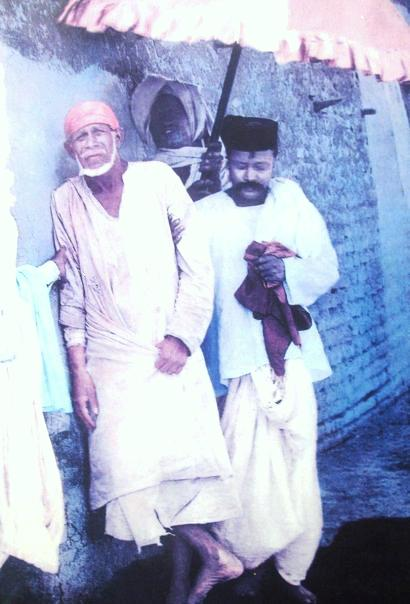 Real photo of Shirdi Sai a Islamic fakir