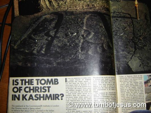 Tomb of Jesus in Kashmir?